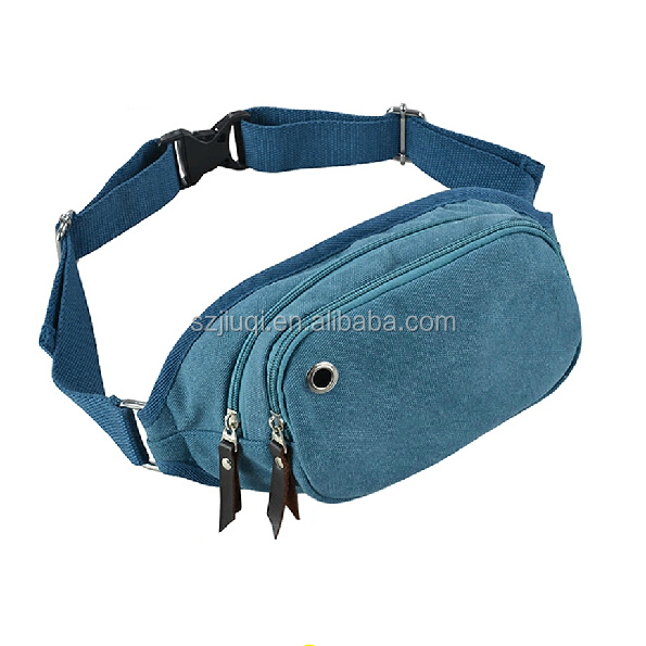 High quality men custom mini waist bag for ipad