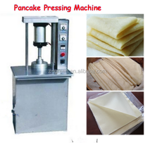 China high output household wonton wrapper pressing machine/dumpling skin making machine
