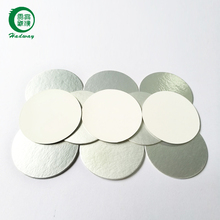 Induction bottle cap seal liner for medicine bottles