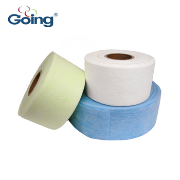 Waistband elastic raw material for baby diaper