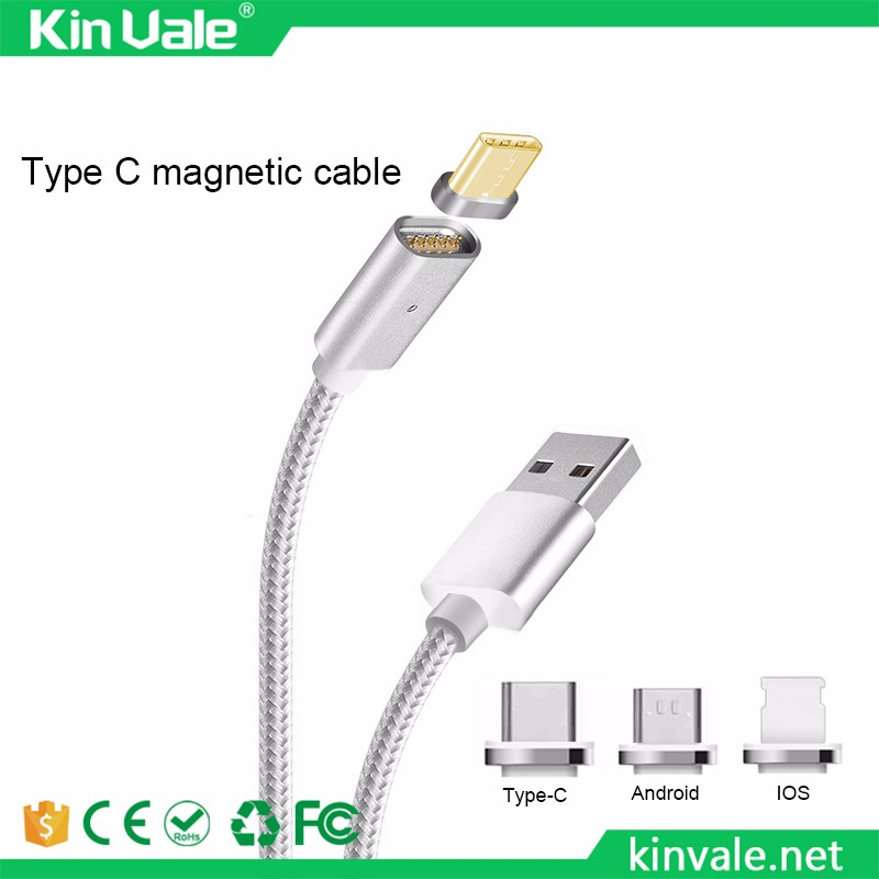 China magnetic adapter Suppliers new Desgin Reversible USB Charging Cable Magnetic Adapter Data Charger For Samsung for iPhone