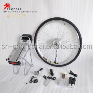 Hot Selling 24V 36V 48V 250W 350W 500W 750W 1000W Brushless Motor Electric Bike Kit E-bike Convertion Kit Electric Bicycle Kit