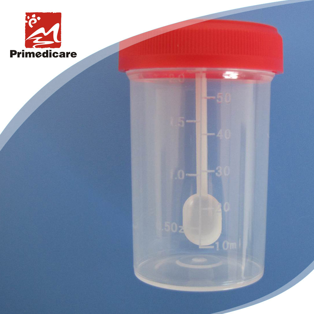 stool sample container
