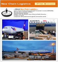 International air Logistics transportation from China to Danmark