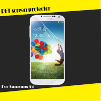Factory whoesale PET clear screen protector for Samsung Galaxy S4 I9500 OEM/ODM
