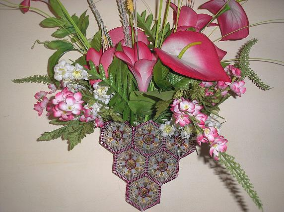 Hand Made Flower Basket