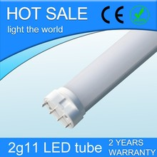 13w 4pin pl 2g11 led tube,replacement pl 2g11 led tube light