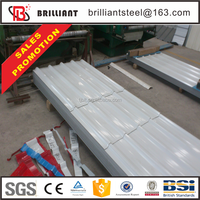 Trade assurance color asphalt corrugated zinc roofing sheet
