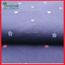 Factory direct china yarn dyed woven 100 cotton jacquard shirt fabric
