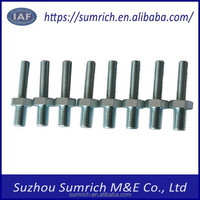 Customized high precision OEM CNC M8x6-M6x30 nuts bolts fasteners