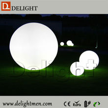 Hot sale lighting up remote control moon floating led swimming pool balls