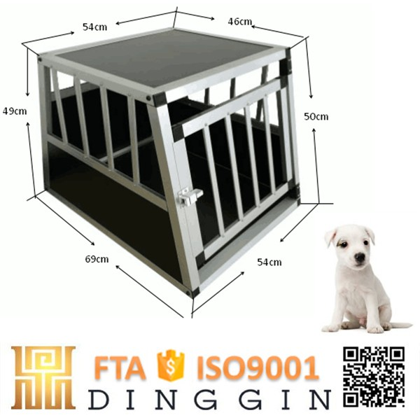 Aluminum dog crate for kinds of animals