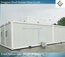 Modular prefab home kit price,low cost container drawing
