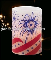 LED CANDLE DECAL