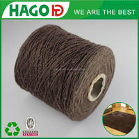 OE cheap regenerated blended cotton yarn knitting carpet or mop yarn