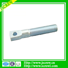 China factory kinds of special thin head bolt with hole in head