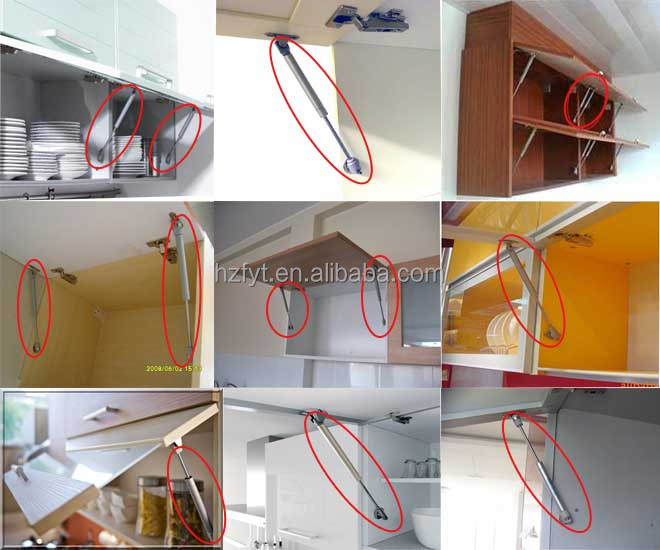 durable extension supporting compressed soft kitchen cabinet gas spring closer (ISO9001:2008)