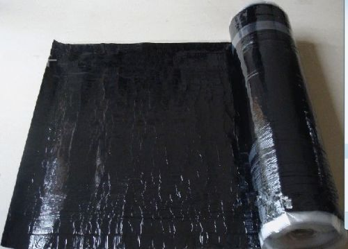 Anti-skid breathable self-adheisve waterproof membrane for deck