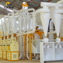 6FTS-26A Flour Milling Plant Mini Steel /Maize Mill Plant With Reasonable Price