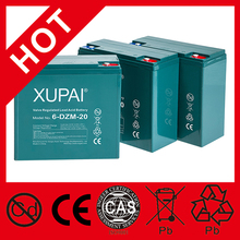 E-Bike Battery 12V 20Ah 6Dzm20 Lead Acid Battery 24V 36V 48V