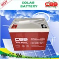 Low Rate Maintenance type PV system solar usage 12V80Ah deep cycle battery