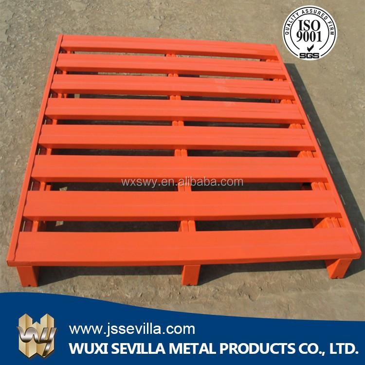 <strong>1200</strong> <strong>x</strong> 1000 Euro Powder Coated Heavy Duty Warehouse Durable Storage Steel Metal Stackable Rack Pallets