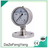 "63mm/ 2.5"" Diaphragm Seals Oil filled Pressure Gauge"