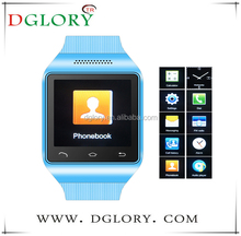 "DG-S18 on sale 1.54"" 240X240pixel,capacitance touch screen watch mobile phone"