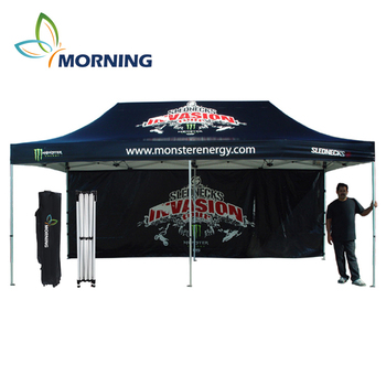 Custom 3x6 aluminum outdoor waterproof trade pop up canopy tent for event