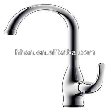 2014 fashion single lever commercial kitchen sink faucet