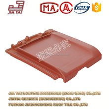 FT-822 Ceramic clay roof tile glazed red roof tile clay roof tile from Zhaoqing