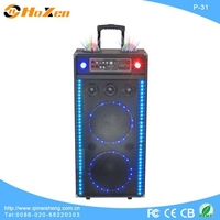 Supply all kinds of home karaoke device,active trolley speaker with bluetooth