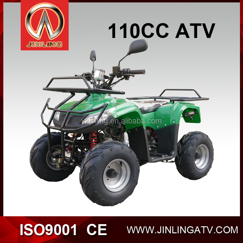 Jinling Brand mini 110cc cheap gas four wheelers for kids