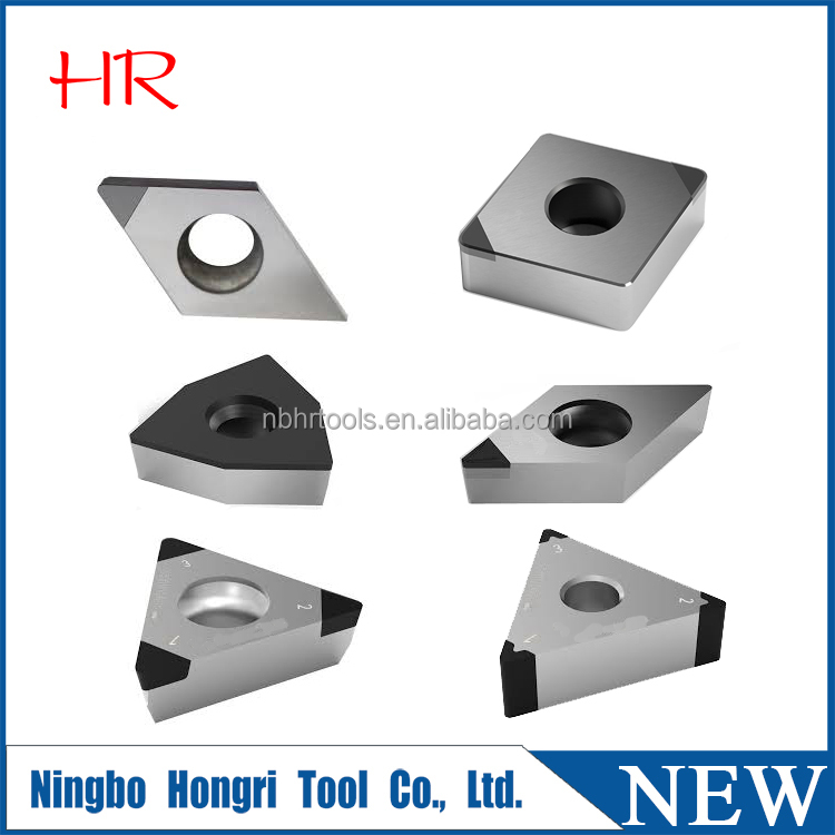 Uncoated PCD/CBN/PCBN cutting tool insert
