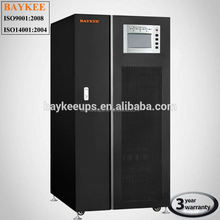 Baykee pure sine wave inverter 100KVA 3 phase UPS 10kw
