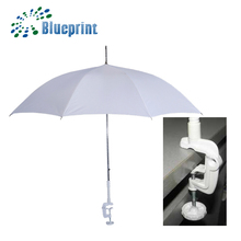 custom white plastic clip on umbrella