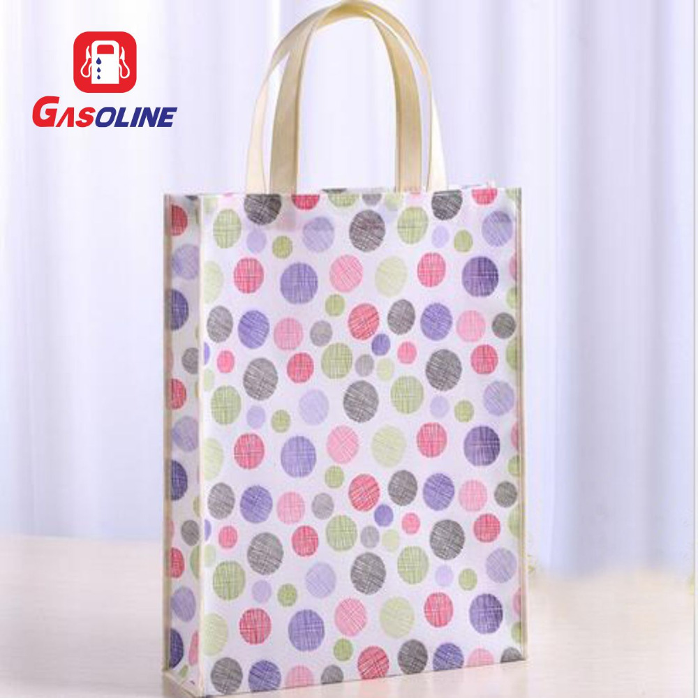 Cartoon Print Foldable Sublimation PP Laminated Non Woven Bag