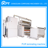 Film Packaging Type and semi automatic PUR Laminating Machine in Romania