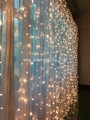 flexible christmas led curtain lights decoration