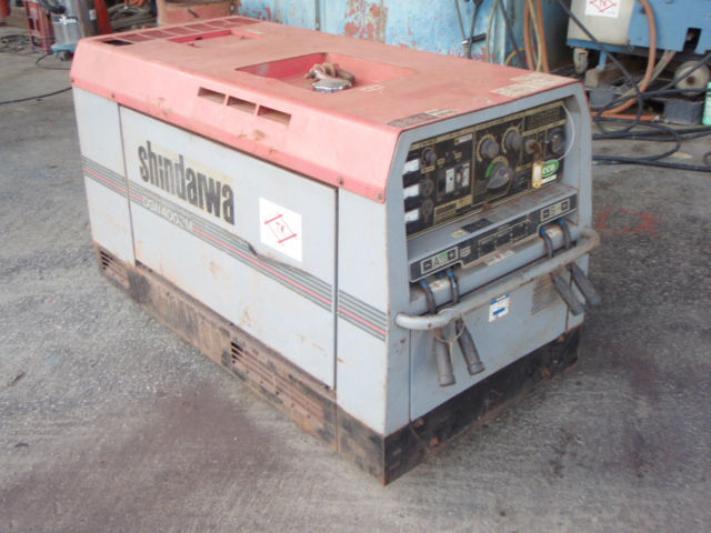 Used welding machine silent type, 400A Yamabiko model