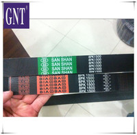 low price 8PK1500 belt for excavator engine parts