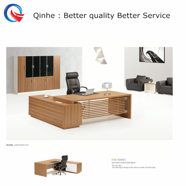 various size inovation lamination contemporary executive desk wooden / metal manager desk inspire work passtion executive desk