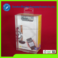 Hot selling mobile phone transparent touch screen sport cellphone armband plastic folding box for brand phone