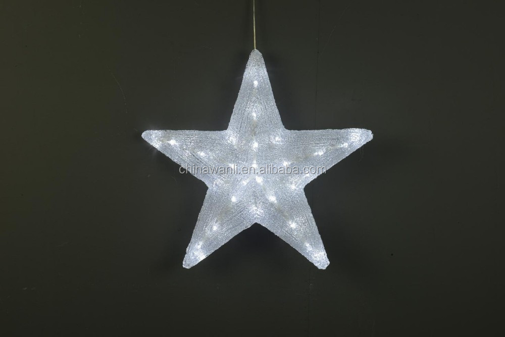 3D Acrylic led lights star