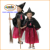 Witch costume (05-703) with cat embroidery for girl with ARTPRO brand