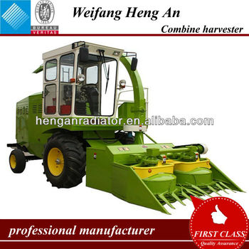 Corn Silage Combine Harvester