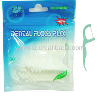 Toothpick dental floss, PP toothpick dental floss