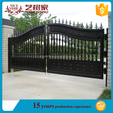 top 10 best seller simple decorative swing sliding philippines gates and fences factory wrought iron main gate design for homes