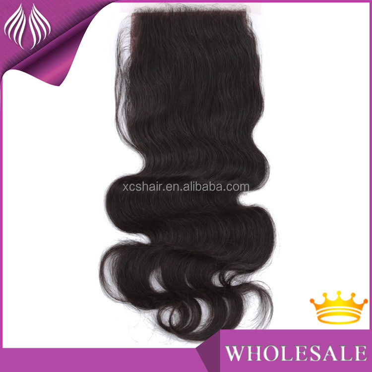 goode price cheap brazilian body wave silk base lace frontal closure