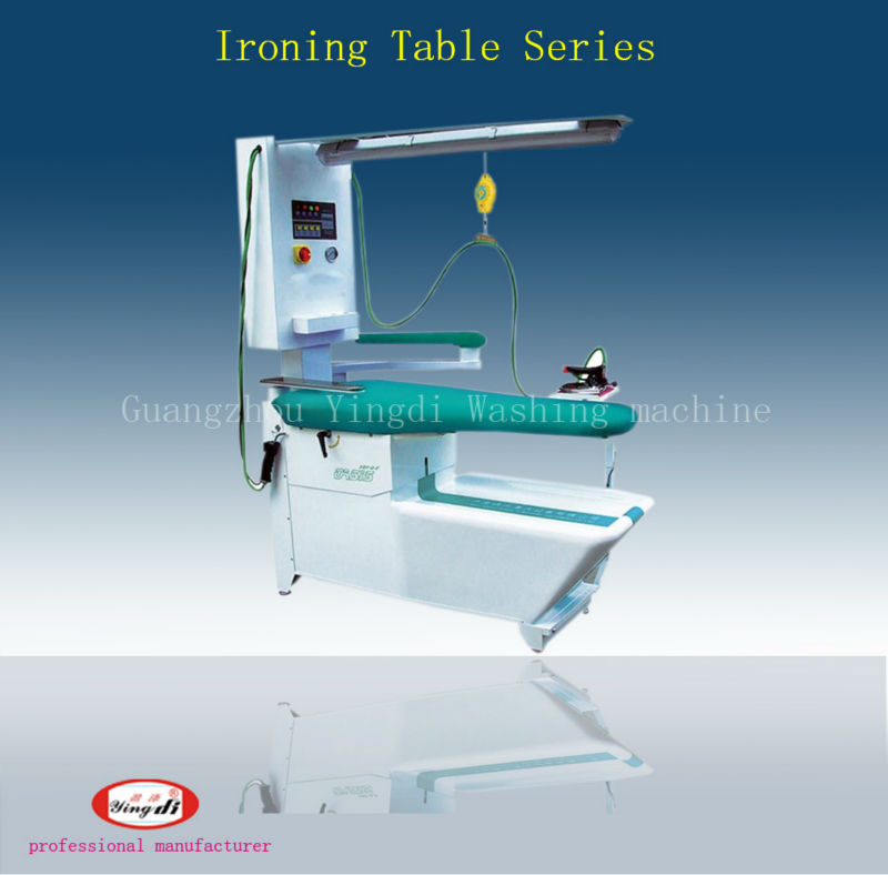 Hotel Multifunction ironing table/Commercial laundry equipment YDF-88 for clothes